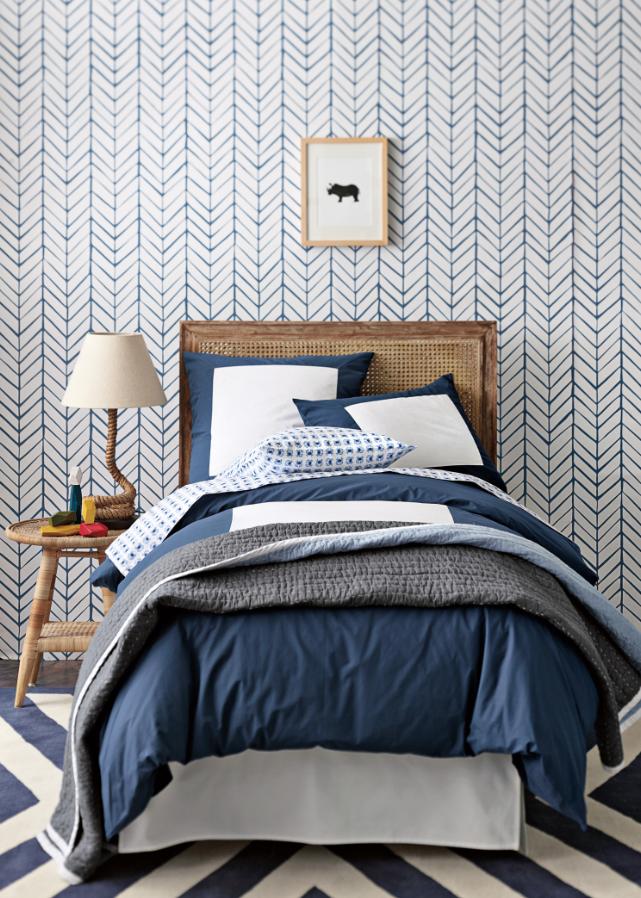 Serena-and-lily-new-line-wallpaper-denim-herringbone