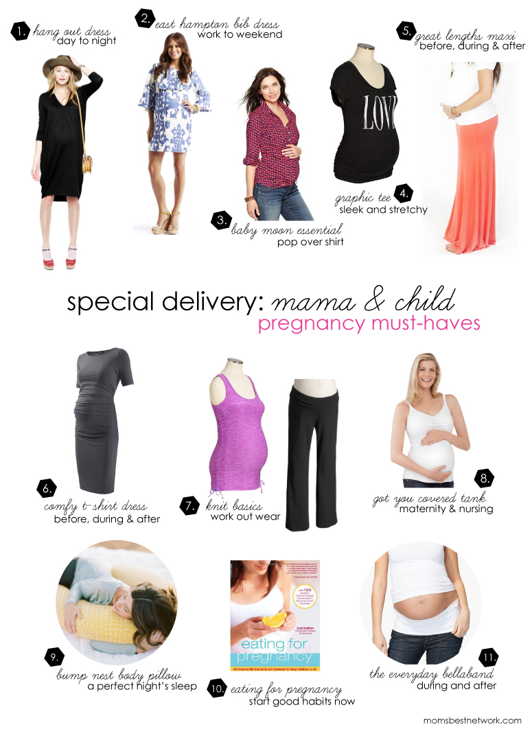 Special Delivery: Mama and Child {Pregnancy Must-Haves ...