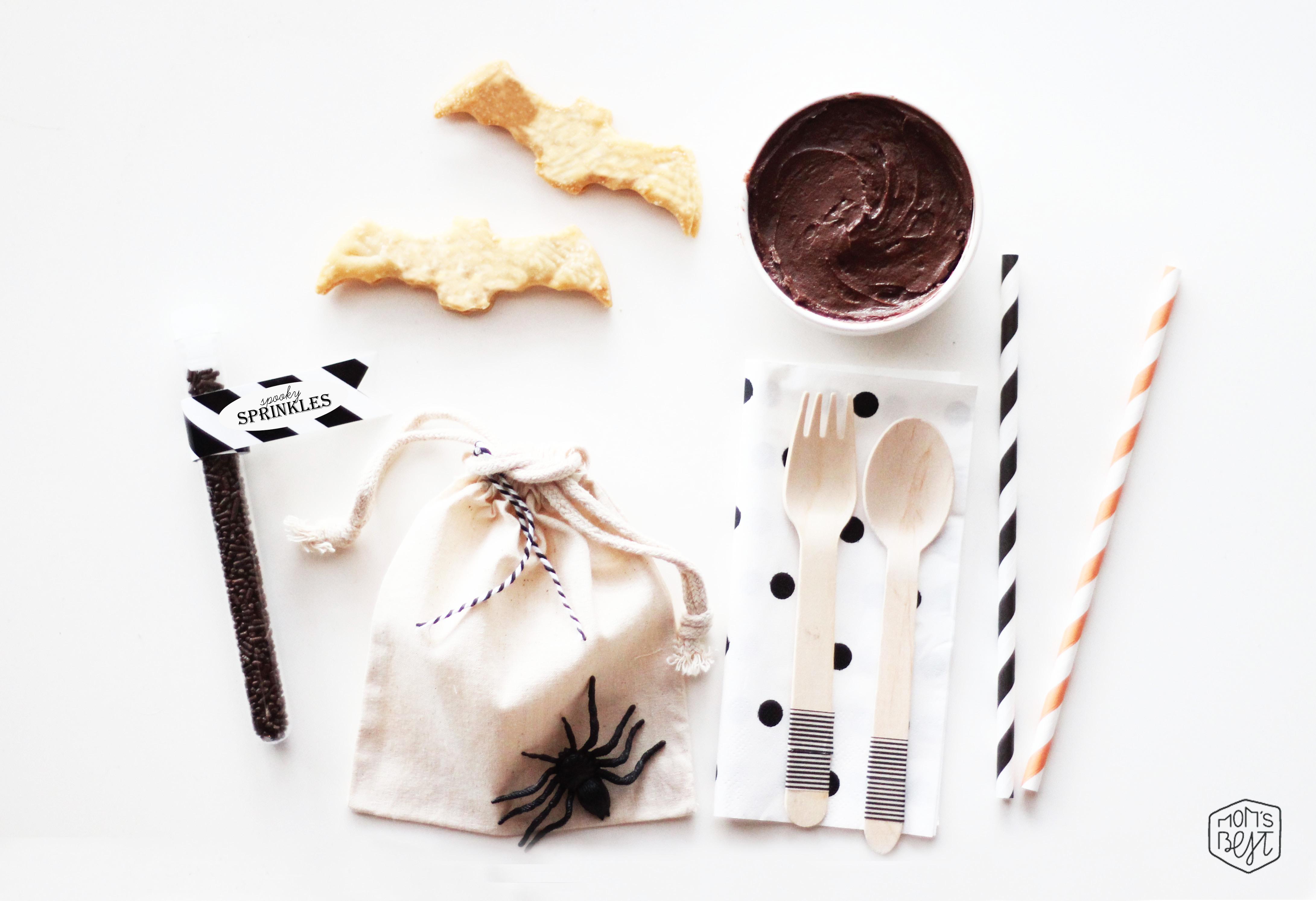 DIY Halloween Cookie Kit Treat Bags