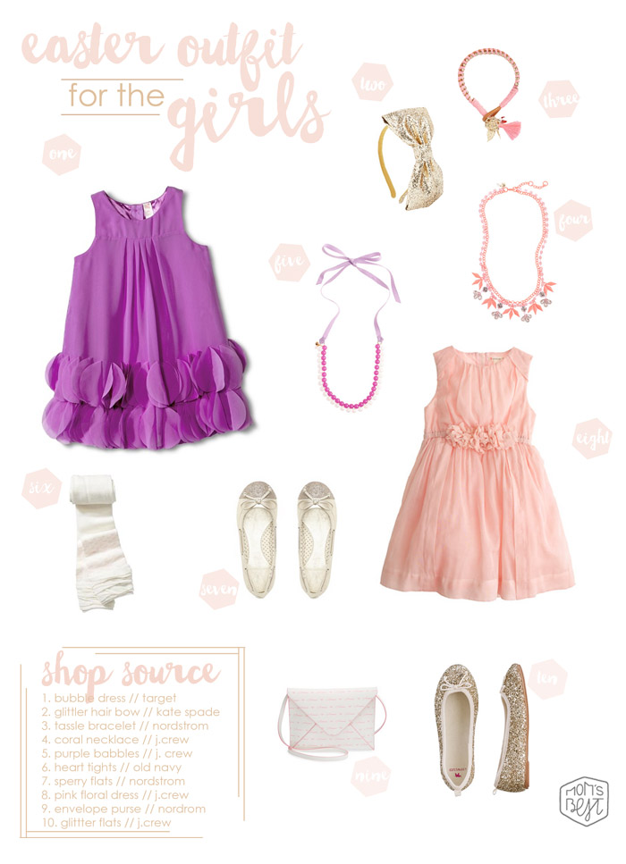 Easter Spring Style Guide Easter Outfits For The Girls