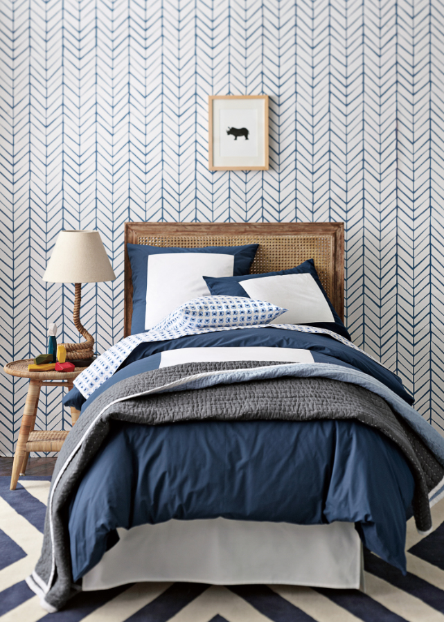 Serena-and-lily-new-line-wallpaper-denim-herringbone