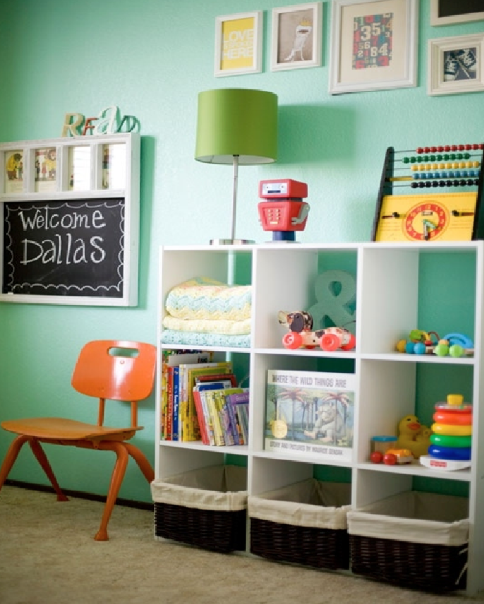 storage space ideas for the nursery
