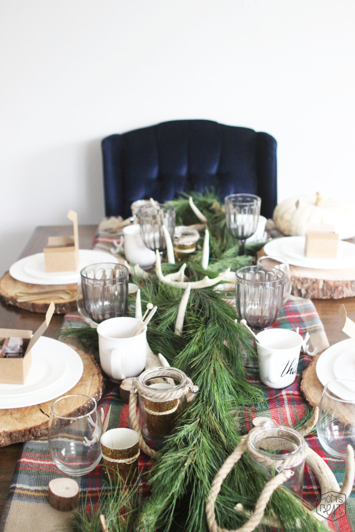 Rustic & Chic Thanksgiving Dinner + 3 tips to make it ...