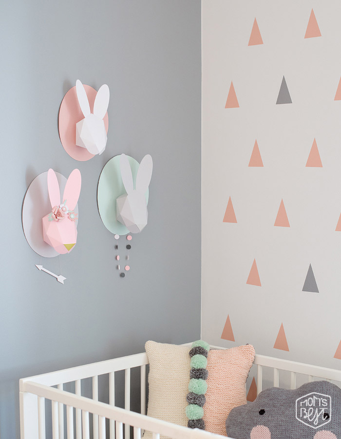 On Trend Bunny Inspired Room Decor