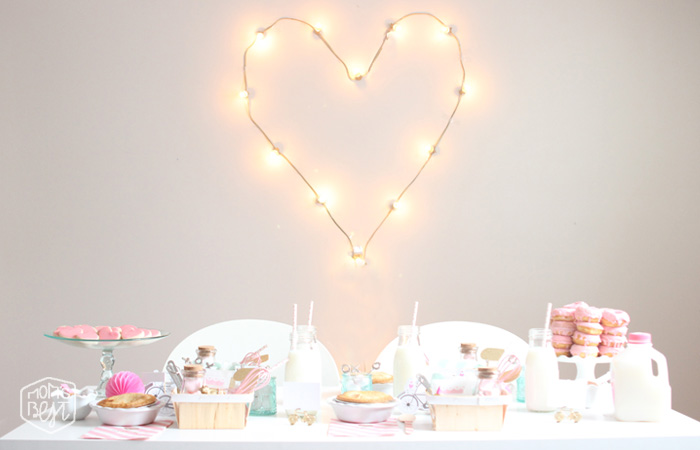 sweet pink valentines party