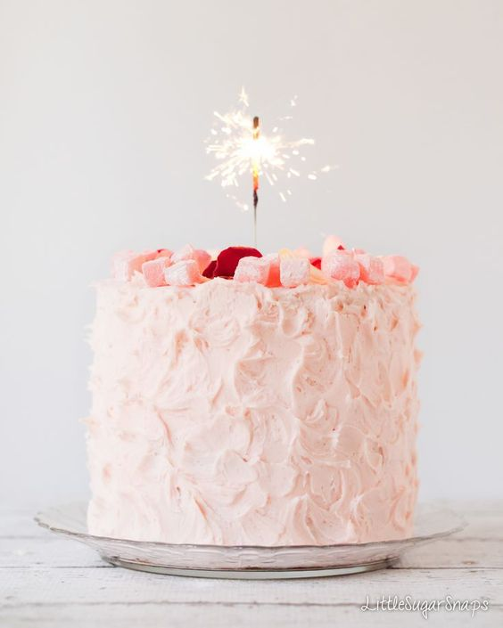 Turkish Delight Layer cake