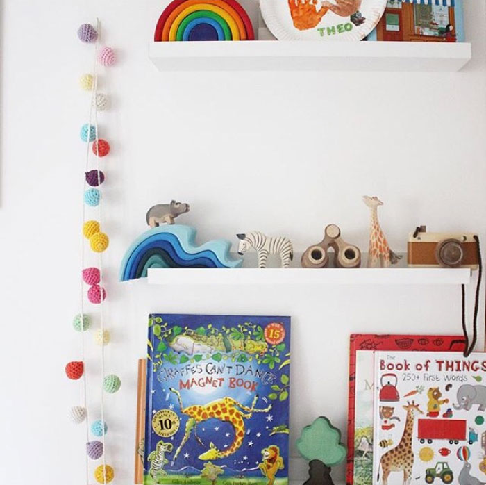 use books and toys as art