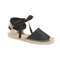 black-espadrill-sandal